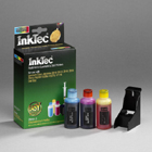 Inkjet Refill Kit for Dell A922 / Dell A942 / DELL A962 colour cartridges Dell J5567 / M4646 / T5482 / R5974 / 561
