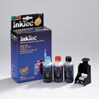 Matching InkTec refill kit for the C9369 - No 348 / 99 Photo Cartridge